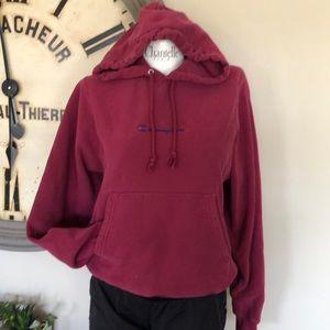 Champion maroon sweatshirt vguc xs
